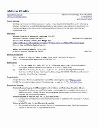 Mechanical Engineering Sample Resume New Template Easy Templates