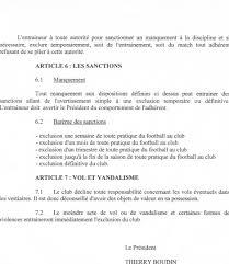 reglement interieur auto ecole reglement interieur du club club football as contest st baudelle