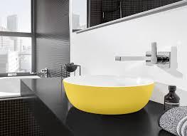 vasque à poser ovale en céramique contemporaine artis