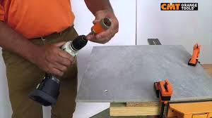 Tile Hole Saw Kit by Cmt Hole Saw 552 On Gres Youtube
