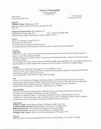 College Freshman Resume Examples CPBZ Sample For Student