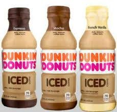 Dunkin Donuts Pumpkin Spice Latte Nutrition by Dunkin Donuts Bottled Ice Coffee Mocha Amazon Com Grocery