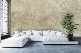 hellgrauer polierter beton