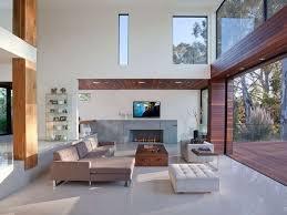 luxusvilla wohnzimmer lounge ledertruhe schöne moderne