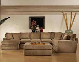 Brown Corduroy Sectional Sofa by Oversized Sectional Couch Beige Sectional Sofas Cheap With Round