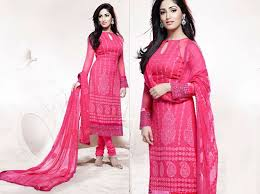 Pakistani Semi Formal Dresses Collection For Girls