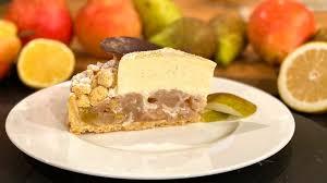 wir in bayern rezept birnen vanille torte