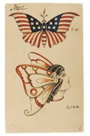 From The Maritime Museums Collection Of Approximately 170 Original Tattoos 1920s And