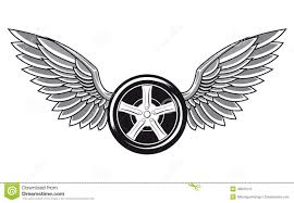 Wheel Tyre With Wings