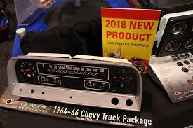 100 66 Chevy Truck Parts SEMA 2018 Classic Instruments Unveils Its New Gauges