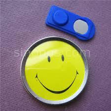smiley bureau aimant smiley badge ronde 2 pouvant se déplacer boutique bureau