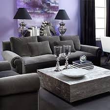 Purple Living Room Pink And Green Art Interiors By
