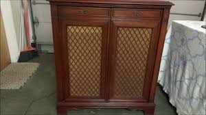 Magnavox Record Player Cabinet Astro Sonic by Magnavox Regency Symphony Model 155 Youtube