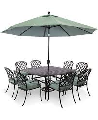 Macys Outdoor Dining Sets by Nottingham Outdoor Cast Aluminum 9 Pc Dining Set 60 Square