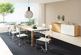 Luxury Contemporary Dining Room Sets Modern Furniture Inside Plans