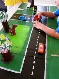 Cardboard Racetrack To Make For Kids Design Dazzle