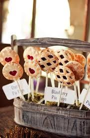Wedding Pie Ideas Dessert Table Pops Cake Inspiration