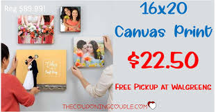 16x20 Canvas Print - ONLY $22.50 At Walgreens! (reg $89.99 ...
