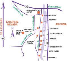 Map Of Laughlin Nevada