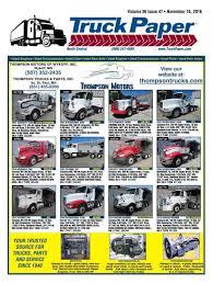 100 Tomahawk Truck Stop Brighton Co Paper