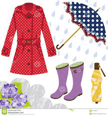 rain gear for women stock images image 34448634