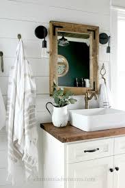 vintage inspired farmhouse bathroom makeover bauernhaus