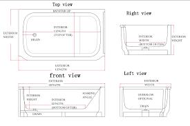 Tiling A Bathtub Lip by Anatomy Of Bathtub Custom Bathtubs
