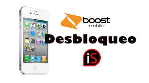 Desbloqueo iPhone 4S iOS 9 10 Boost Mobile a TELCEL
