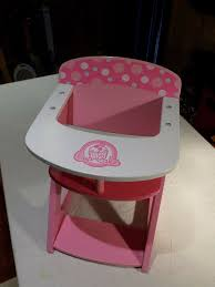 Cupcake Wooden Dolls High Chair - 43cm High | In Abingdon, Oxfordshire |  Gumtree Star Bright Doll High Chair Wooden Dollhouse Kitchen Fniture 796520353077 Ebay Childcare The Pod Universal Dolls House Miniature Accessory Room Best High Chairs For Your Baby And Older Kids Highchair With Tray Antilop Silvercolour White Set Of Pink White Rocking Cradle Cot Bed Matching Feeding Toy Waldorf Toys Natural Twin Twin Chair Oueat Duo Guangzhou Hongda Craft Co Ltd Diy Mini Kit Melissa Doug 9382