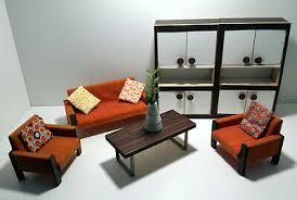 bodo hennig wohnzimmer 70er sofa sessel tisch schrank kissen