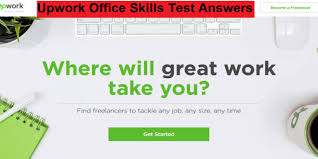 Upwork Office Skills Test Answers