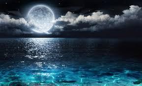 vollmond fototapete nacht seascape tapete schlafzimmer foto inneneinrichtungen