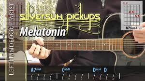 Today Smashing Pumpkins Tablature by Silversun Pickups Melatonin Chords Guitar Lesson Youtube