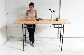 Office Max Stand Up Desk by Homemade Modern Ep74 Standing Desk Strategically Adjusting Desks