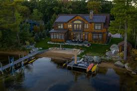 104 Water Front House On The Market An Eco Friendly Front Retreat On Lake Winnipesaukee