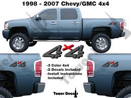 4x4 Truck Bedside Vinyl Decal Fits: Chevrolet Silverado GMC Sierra ... 2015 2016 2017 2018 Chevy Colorado Truck Bed Stripes Antero Decals Metal Mulisha Skull Circle Window X22 Graphic Decal Best Of Silverado Rocker Drag Racing Nhra Rear Nostalgia Amazoncom Chevrolet Bowtie With Antlers Sticker Wave Red Vinyl Half Wrap Xtreme Digital Graphix More Rally Edition Unveiled New Z71 4x4 Gmc Canyon Tahoe Stickers For Trucks 42015 1500 Plus Style