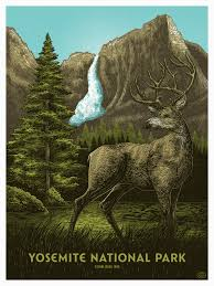 Yosemite National Park John Vogl Color Separations
