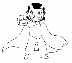 Girl Vampire Coloring Pages Halloween For Big Peoples 1056×816