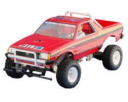 100 Subaru Trucks Tamiya Brat 110 OffRoad 2WD PickUp Truck Kit TAM58384