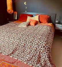 leopard throw decke