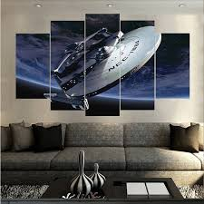 ausschließlichkeits schöne raumschiff ölgemälde auf leinwand moderne home bilder drucke wohnzimmer kinderzimmer deco gemälde