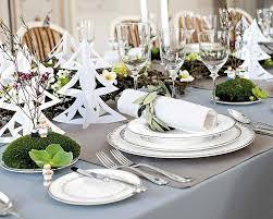 deco noel de table décoration de table élégante et originale pour la fête de noël
