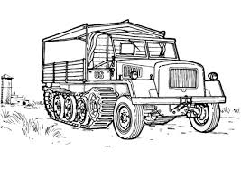 Cross Country Vehicle Army Car Coloring Pages Bulk Color