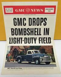 100 1954 Gmc Truck For Sale GMC News Dealer S Brochure De Luxe Pickup Panel