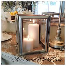 DIY Candle Lantern Using Picture Frames From The Dollar Store Hot