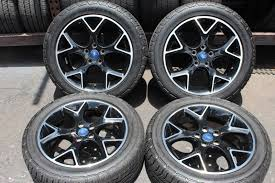100 Tires And Wheels For Trucks Set D Focus 2012 2013 2014 17 OEM Rims 21550R17 BF