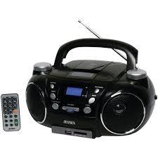 Ilive Under Cabinet Radio Cd Player by Sylvania Bluetooth Under Cabinet Kitchen Clock Radio Skcr2810bt