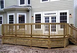 Metal Deck Skirting Ideas by Wood Decks Wood Deck Home Pinterest Decks Railings And