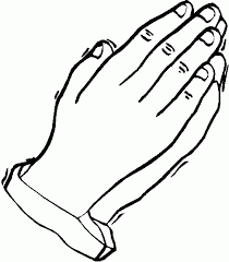 Outlines Of Hand Coloring Pages