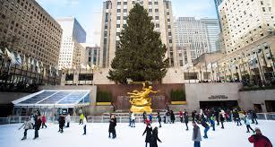 Rockefeller Plaza Christmas Tree 2014 by The Rink At Rockefeller Center Opens For The Season Global Traveler